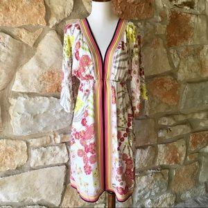 Trina Turk Floral Kimono Dress